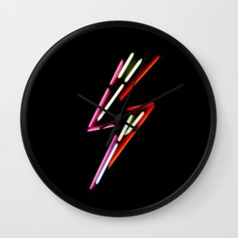 Vibrant Storm Wall Clock
