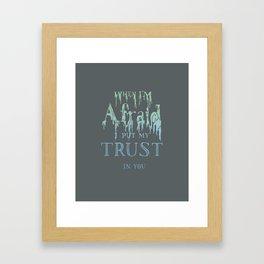 Psalm 56 Framed Art Print