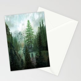 Mountain Morning 2 Stationery Cards