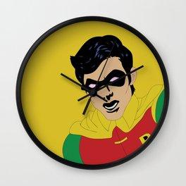 Robin Side Kick Wall Clock
