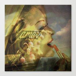 Camero Girl Canvas Print