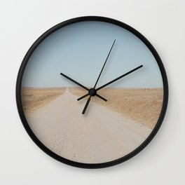 County Road 4201 Wall Clock