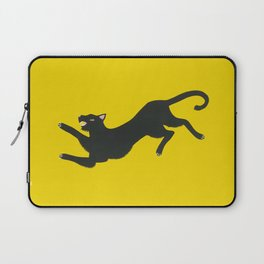 Yellow Panther Laptop Sleeve