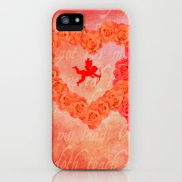 Who Loves You iPhone Case