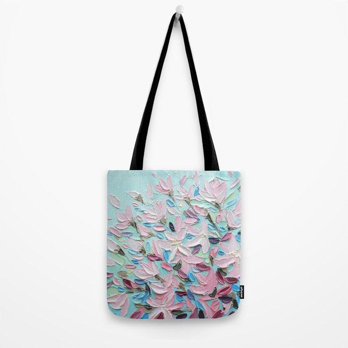 District  Blooms Tote Bag