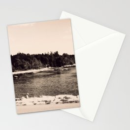 Vintage Acadia Stationery Cards