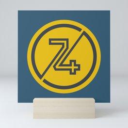 74 Mini Art Print