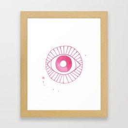 Evil Eye II Framed Art Print