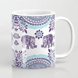Boho Elephant Pattern Coffee Mug