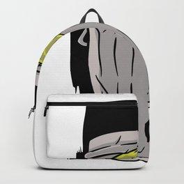 Muelleimer dustbin silver Backpack