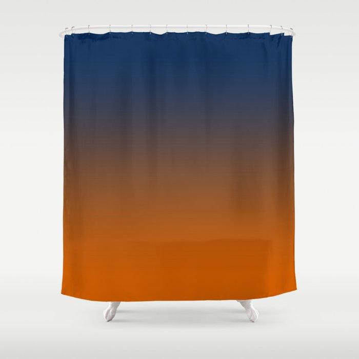Ombre Ahinahina Sunrise Shower Curtain