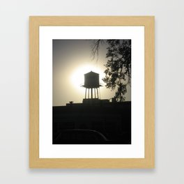 One Tank Framed Art Print