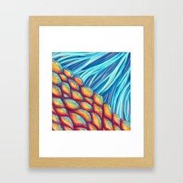 Scales and Fins Framed Art Print