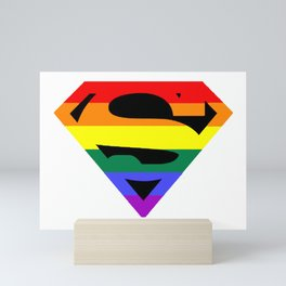 Super Queer Mini Art Print