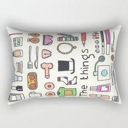 The things Rectangular Pillow