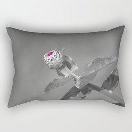 Flower Opening Rectangular Pillow