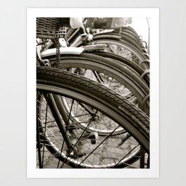 Bike København Art Print