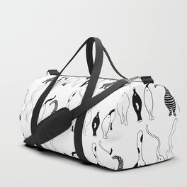 Cat Butts Pattern Duffle Bag