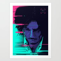 movie poster Art Prints featuring Oldboy - Alternative movie poster by FourteenLab