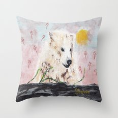 Polar Bear (day excursion) Throw Pillow