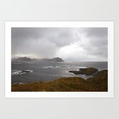 Lofoten Seaview Art Print