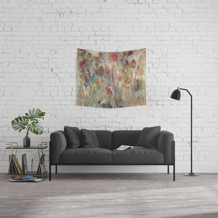 Lifted Up Wall Tapestry