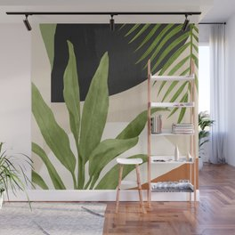 Abstract Art Tropical Leaf 11 Wall Mural