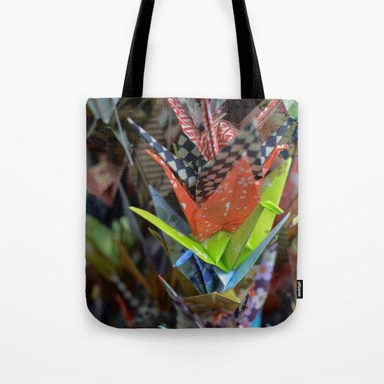 Origami Strand Tote Bag