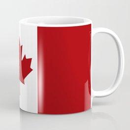 Canada: Canadian Flag (Red & White) Coffee Mug