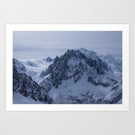 Chamonix Mont Blanc Art Print