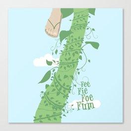 Fee Fie Foe Fum ! Canvas Print