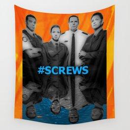 Screws Wall Tapestry