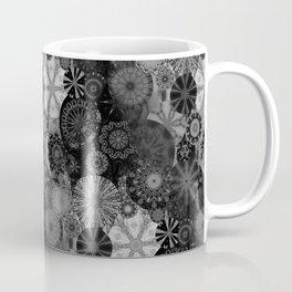 Fancy Sunset Silhouette on a grey day Coffee Mug