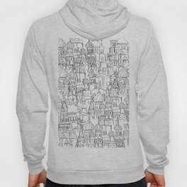 Russian cathedral church line drawing Hoody