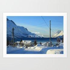 Tromso Art Print