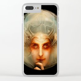 The Chimera (Black) Clear iPhone Case