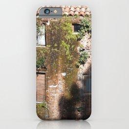 "Abandoned Building - Catania - Sicily - ""Vacancy"" zine iPhone Case"