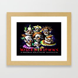 Clowns From Space Framed Art Print