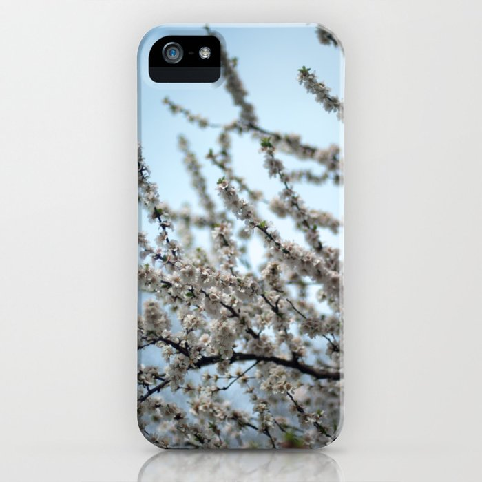 Snow Blossoms iPhone Case