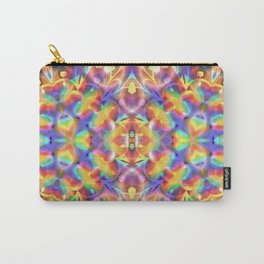 Rainbow Butterfly Geometrica Carry-All Pouch