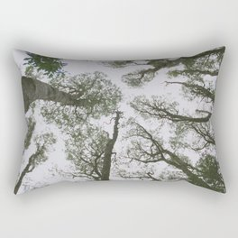 In To The Woods Rectangular Pillow