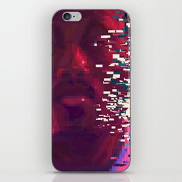 Frank fanart with pixels iPhone Skin