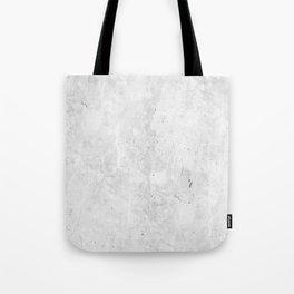 White Light Gray Concrete Tote Bag