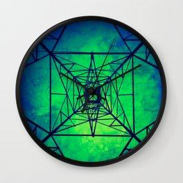 Powerline Tower  Wall Clock