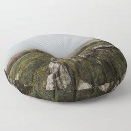 The Burren - County Clare, Ireland Floor Pillow