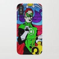 religion iPhone & iPod Cases featuring heroic religion by Flo Zero
