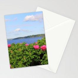 Melmerby Beach Wild Rose Stationery Cards