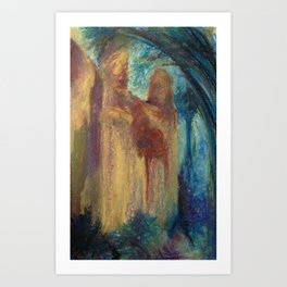 Abstract Landscape IV Art Print