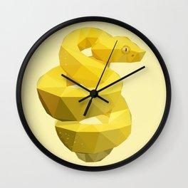 Viper Snake. Wall Clock