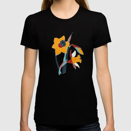 Mid Century spring floral T-shirt